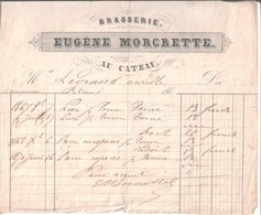 Eugène Morcrette. Le Cateau. Brasserie. 1870 à Achille Legrand. - 1900 – 1949