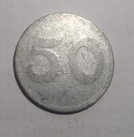TOKEN GETTONE COOP, SUPERMERCATO IPERMERCATO 50 LIRE ALLUMINIO - Monetary/Of Necessity