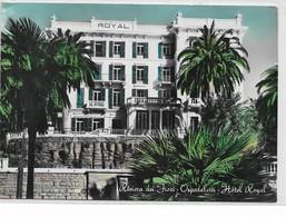 CARD OSPEDALETTI LIGURE HOTEL ROYAL-(IMPERIA) FG-V-2-     0882-28672 - Imperia