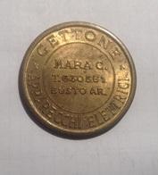 TOKEN GETTONE APPARECCHI ELETTRICI FLIPPERS MARA C. BUSTO ARSIZIO - Monetary/Of Necessity