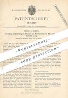 Original Patent - Miehe , Elbing , 1880 , Reinigen Der Waschmaschinen Für Rüben , Kartoffeln | Zucker , Zuckerfabrik ! - Historische Dokumente