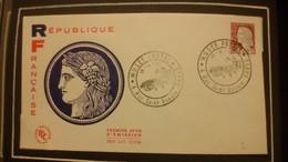 1°  Jour.d'émission..FDC ..1960 ..  Les Célébrités Française  TIMBRE REPUBLIQUE FRANCAISE - Joint Issues