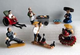 Kinder 2002 : Série Complète Allemande : Faszination Fremde Lander Asien (6 Figurines Avec 6 BPZ) - Lots