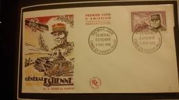 1°  Jour.d'émission..FDC ..1960 ..  GENERAL  ESTIENNE - Joint Issues