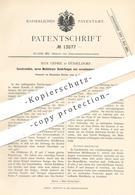 Original Patent - Max Gehre , Düsseldorf , 1880 , Gewürzmühle | Gewürz - Mühle | Mühlen , Gewürze , Kräuter !!! - Historische Dokumente