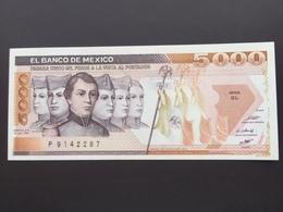 MEXICO P87 5000 PESOS 19.07.1985 UNC - Mexique