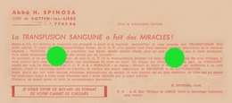 VOTTEM  Abbé Spinosa - Buvards, Protège-cahiers Illustrés