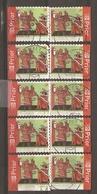 Belgique 2006 - Croix Rouge - Petit Lot De 10 Timbres° De Carnet C 63 - 4 Différents - Postzegelboekjes 1953-....