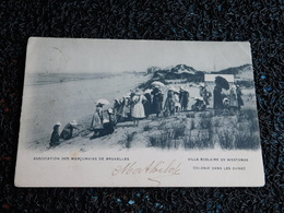 Villa Scolaire De Westende, Colonie Dans Les Dunes, 1905, Timbre  (Y6) - Westende