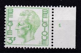 Belgie Plaatnummer COB** 1694.1 - Numéros De Planches
