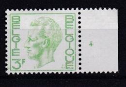 Belgie Plaatnummer COB** 1694.4 - Numéros De Planches