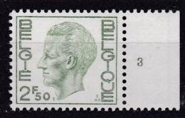 Belgie Plaatnummer COB** 1716.3 - 1971-1980