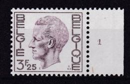 Belgie Plaatnummer COB** 1753-1755.1 - Numéros De Planches