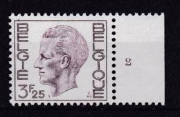 Belgie Plaatnummer COB** 1753-1755.2 - Numéros De Planches