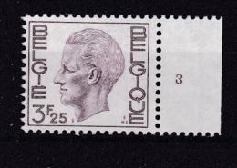 Belgie Plaatnummer COB** 1753-1755.3 - Numéros De Planches