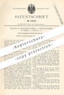 Original Patent - Halle'sche Maschinenfabrik & Eisengießerei R. Riedel , Halle / Saale , Kreissegment - Schnitzelpresse - Historische Dokumente
