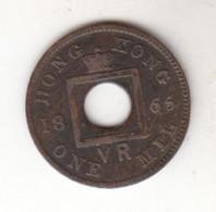 Hong Kong One Mill 1865 - Chine