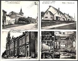 Oreye - Lot 2 Cartes (Nouvelle Cité, Chapelle, Maison Communale, Eglise (oldtimer) - Waremme