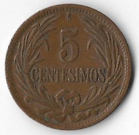 Uruguay 1944 5 Centesimos [C302/1D] - Uruguay