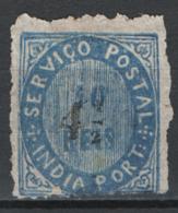 Indie Portoghesi 1881 Y.T.57 */MH VF/F - India Portoghese