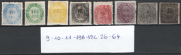 Indie Portoghesi 1872/77 8 Val. With Faults */O/MH/Used F - India Portoghese