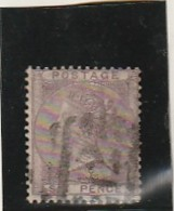 GRANDE BRETAGNE  N°19 Violet 6 Pence  Côte 100€ - 1840-1901 (Victoria)