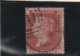 GRANDE BRETAGNE  N°26 1P Brun Rouge Côte 2.50€ - Oblitérés