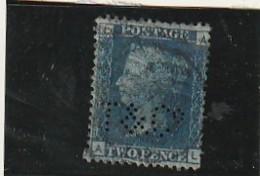 GRANDE BRETAGNE  N°27 Bleu 2P - Côte 12€ - 1840-1901 (Victoria)