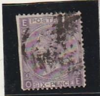 GRANDE BRETAGNE  N°34   6d Violet   --- Côte 80€ - Used Stamps