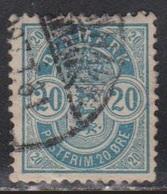 DENMARK Scott # 48 Used - 1905-12 (Frederik VIII)