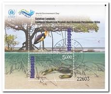 Indonesië 2014, Gestempeld USED, World Environment Day - Indonésie