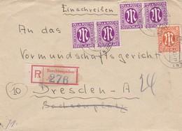 Brief Aus Bertesgarden 1946 - Bizone