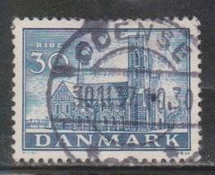 DENMARK Scott # 256 Used - 1913-47 (Christian X)