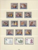 VATIKAN  Jahrgang 1991, Postfrisch **, Komplett Mi. 1023-1050 - Vatican