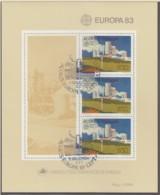 AZOREN  Block 4, Gestempelt, Große Werke Des Menschlichen Geistes, 1983 - Europa-CEPT