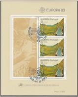 MADEIRA  Block 4, Gestempelt, Große Werke Des Menschlichen Geistes, 1983 - Europa-CEPT