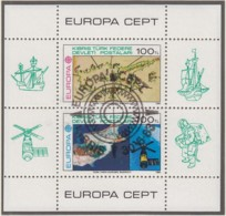 TÜRKISCH ZYPERN  Block 4, Gestempelt, Große Werke Des Menschlichen Geistes, 1983 - Europa-CEPT