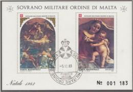 MALTESERORDEN, Block, Gestempelt, Weihnachten, 1983 - Malta (Orden Von)