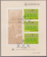 MADEIRA Block 5, Gestempelt, Europa: 25 Jahre CEPT, 1984 - Europa-CEPT
