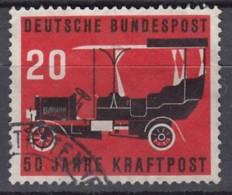 BRD 211, Gestempelt, 50 Jahre Kraftpost 1955 - [7] République Fédérale