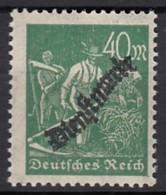 DR Dienst 77 B, Postfrisch **, Geprüft, 1923 - Oficial