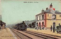 CPA NEZEL ( S-&-O ) - La Gare - Frankreich