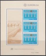 AZOREN Block 5, Postfrisch **, 25 Jahre Europa CEPT 1984 - Europa-CEPT
