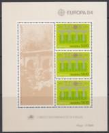 MADEIRA Block 5, Postfrisch **, 25 Jahre Europa CEPT 1984 - Europa-CEPT