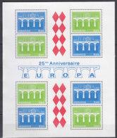 MONACO Block 26, Postfrisch **, 25 Jahre Europa CEPT 1984 - Europa-CEPT