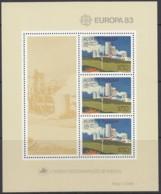 AZOREN Block 4, Postfrisch **, Europa CEPT:  Große Werke Des Menschlichen Geistes 1983 - Europa-CEPT