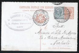 SAN PIETRO VERNOTICO - BRINDISI - 1920 - CARTOLINA COMMERCIALE - MARANGIO - Negozi