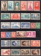 Année Complète 1939 N° 419 à 450 Cote: 376 € à -16% De La Cote  Neuf * TTB - France
