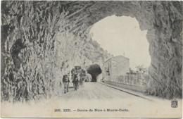 D06 - EZE - ROUTE DE NICE A MONTE CARLO - Charrette Avec Des Mules - Cachet S.H.R. Cannes La Bocca - Eze
