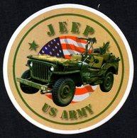 FRANCE - AUTOCOLLANT / STICKER - DEBARQUEMENT EN NORMANDIE - JEEP - US ARMY - Adesivi